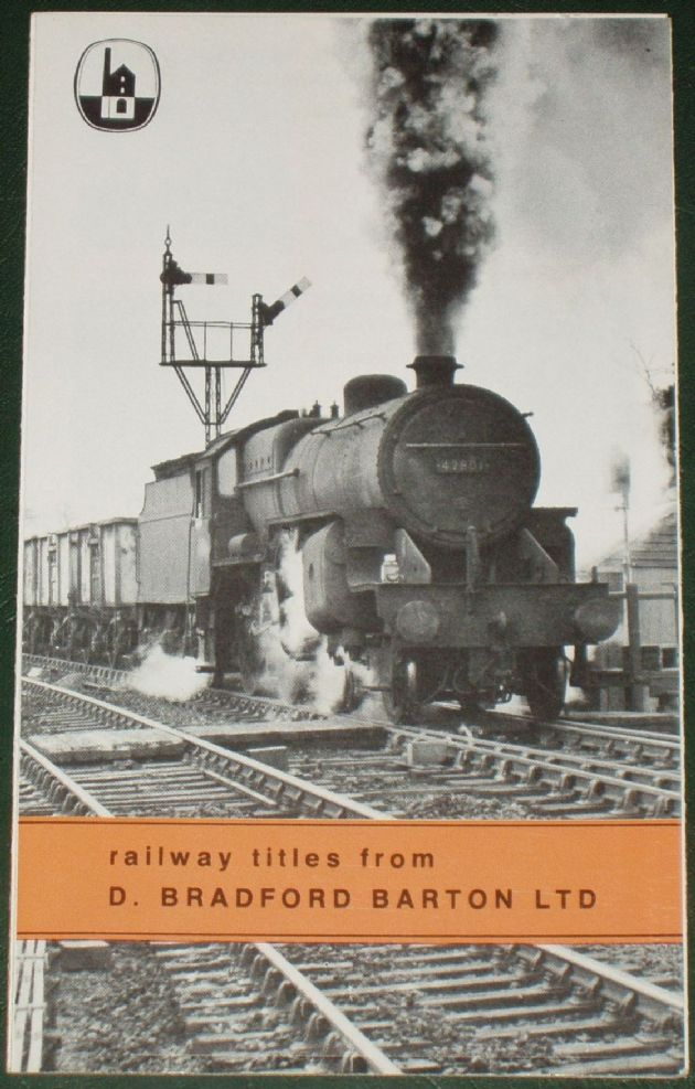Railway Titles from D. Bradford Barton Ltd